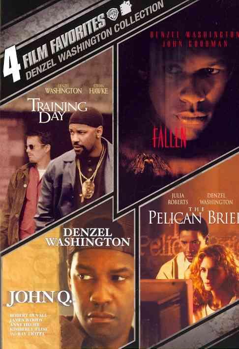 4 FILM FAVORITES:DENZEL WASHINGTON BY WASHINGTON,DENZEL (DVD)